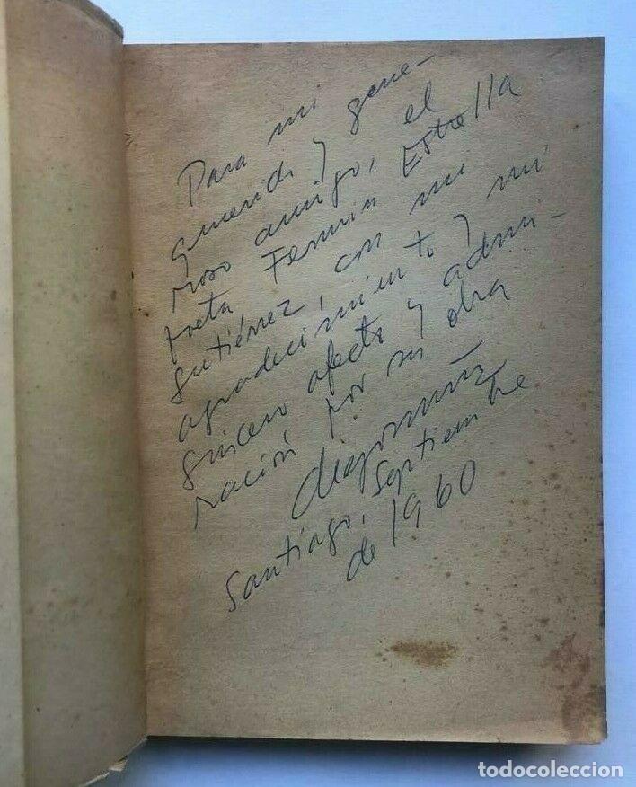 Libros de segunda mano: Diego Muñoz - Carbon - Chile - Prologo de Pablo Neruda - Firmado + carta - Foto 2 - 172173567