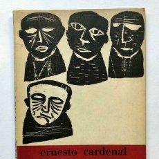Libros de segunda mano: ERNESTO CARDENAL - LA HORA 0 - EDITO AQUÍ POESÍA - MONTEVIDEO 1966. Lote 172174100
