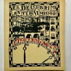 Libros de segunda mano: JOAQUIN TORRES GARCÍA - EL DESCUBRIMIENTO DE SI MISMO - 1970. Lote 172233763