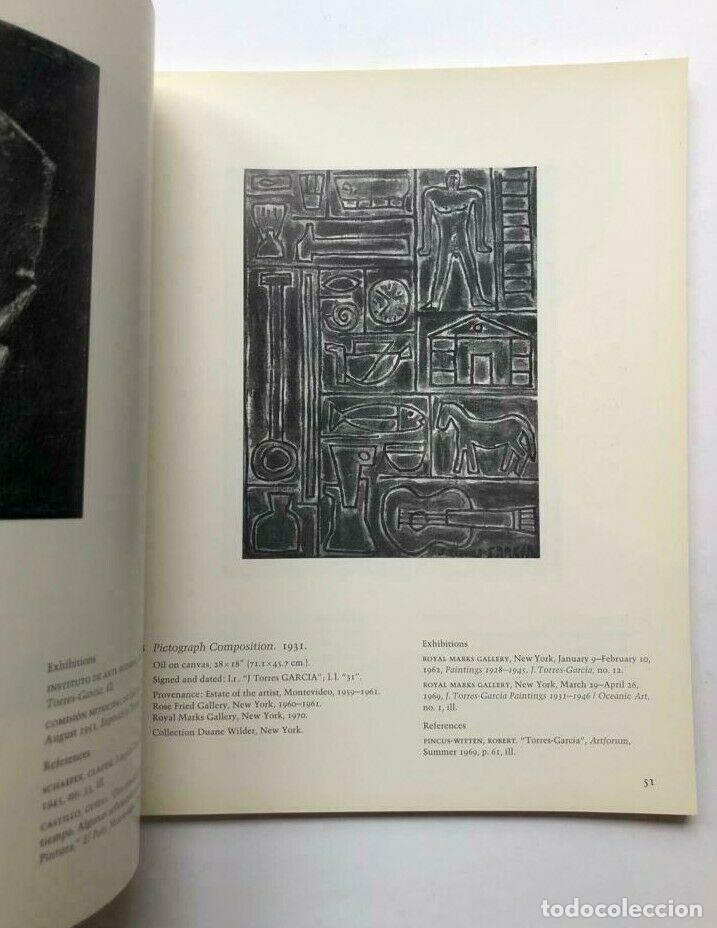 Libros de segunda mano: Joaquin Torres García - El descubrimiento de si mismo - 1970 - Foto 3 - 172233763