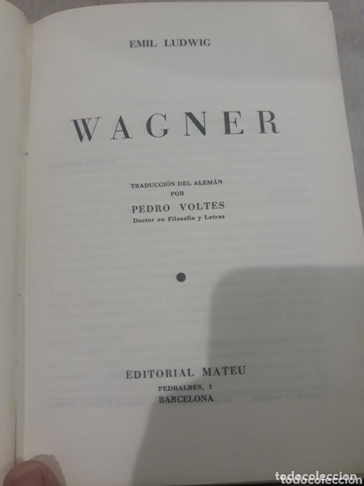 Libros de segunda mano: WAGNER EMIL LUDWIG - Foto 3 - 172256128