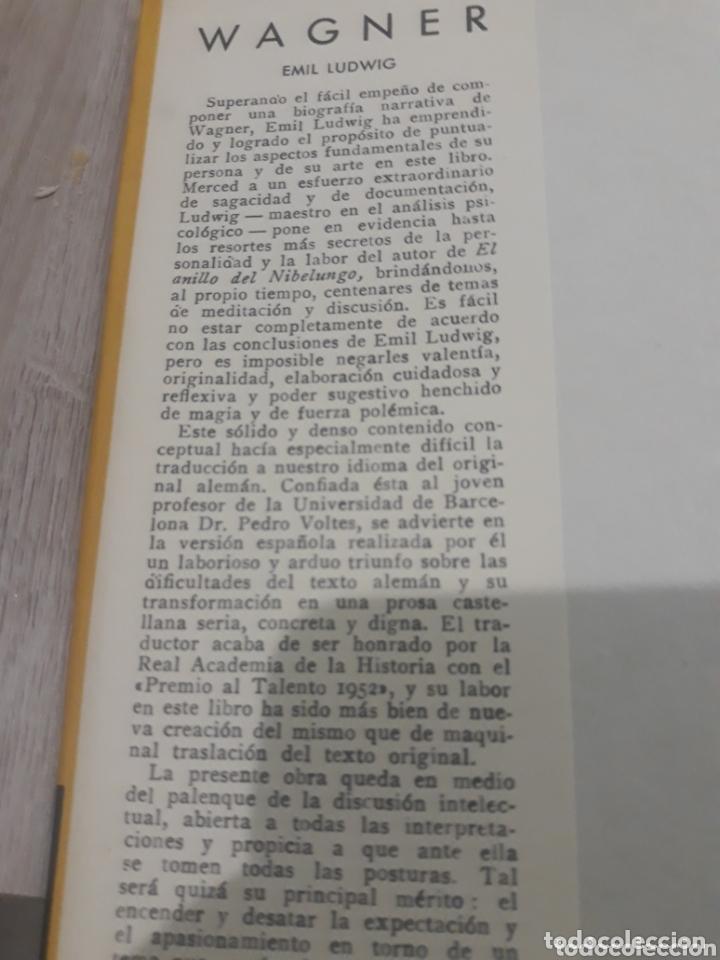 Libros de segunda mano: WAGNER EMIL LUDWIG - Foto 4 - 172256128