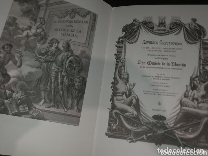 Libros de segunda mano: ESTUDIOS CERVANTINOS( QUIJOTE) - Foto 4 - 172258119