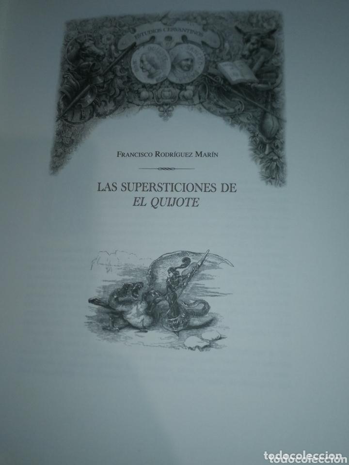 Libros de segunda mano: ESTUDIOS CERVANTINOS( QUIJOTE) - Foto 7 - 172258119