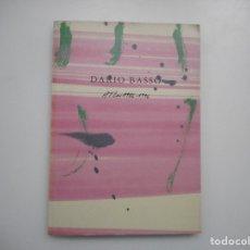 Libros de segunda mano: DARIO BASSO ATLAS 1986-1996 Y95321. Lote 172286333