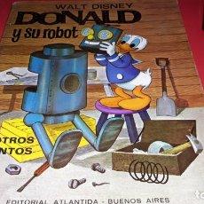 Libros de segunda mano: DONALD Y SU ROBOT Y OTROS CUENTOS EDITORIAL ATLANTIDA -BUENOS AIRES AÑOS 60. Lote 172306612