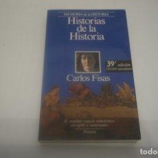 Libros de segunda mano: (4C) HISTORIAS DE LA HISTORIA / CARLOS FISAS / PLANETA. Lote 172311727