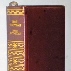 Libros de segunda mano: OBRAS ESCOGIDAS DE JEAN COCTEAU. Lote 172312157