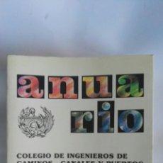 Libros de segunda mano: ANUARIO 88 COLEGIO DE INGENIEROS DE CAMINOS, CANALES Y PUERTOS. Lote 172316724