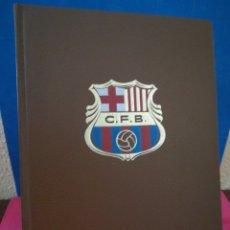 Libros de segunda mano: HISTORIA DEL C. F. BARCELONA - EDITORIAL GRAN ENCICLOPEDIA VASCA, 1971. Lote 172333625
