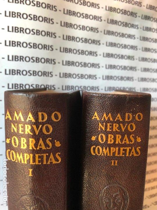 Libros de segunda mano: AMADO NERVO - OBRAS COMPLETAS - AGUILAR - OBRAS ETERNAS - Foto 3 - 172364674