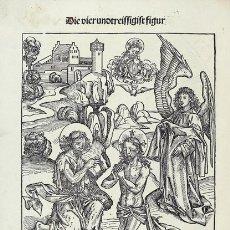 Libros de segunda mano: ¡RARO! EL CAZADOR DE RIQUEZAS DE LA SALVACIÓN (FACSÍMIL DEL INCUNABLE DEL S. XV), CON 90 GRABADOS. Lote 172367899