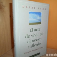 Livros em segunda mão: EL ARTE DE VIVIR EN EL NUEVO MILENIO / DALAI LAMA. Lote 172383095
