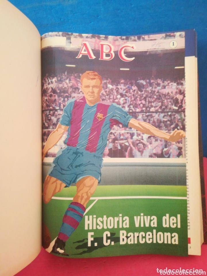 Libros de segunda mano: Historia viva del F. C. Barcelona 1899-1992 COMPLETO - ABC, 1992 - Foto 4 - 172394888
