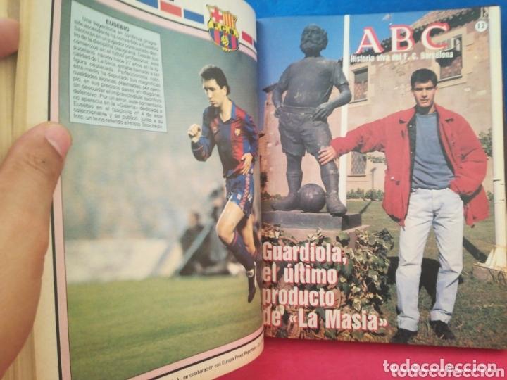 Libros de segunda mano: Historia viva del F. C. Barcelona 1899-1992 COMPLETO - ABC, 1992 - Foto 6 - 172394888
