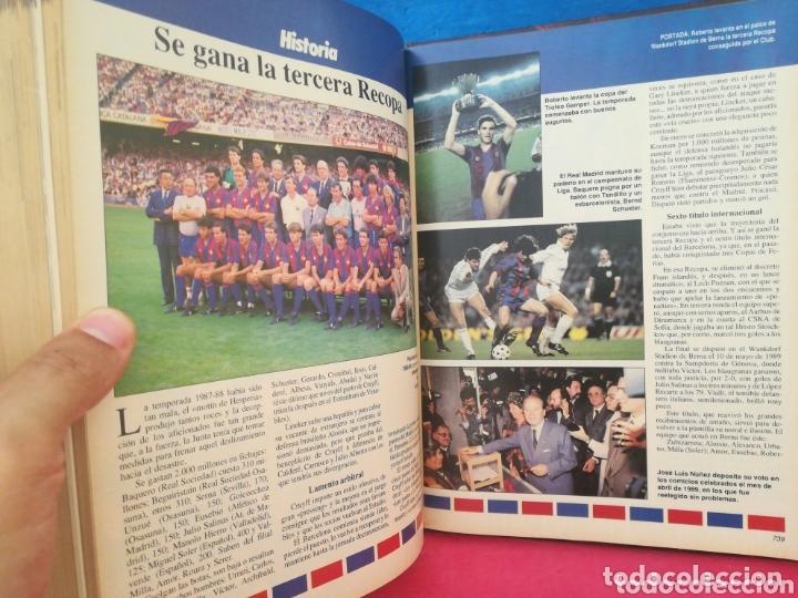 Libros de segunda mano: Historia viva del F. C. Barcelona 1899-1992 COMPLETO - ABC, 1992 - Foto 8 - 172394888