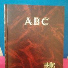 Libros de segunda mano: HISTORIA VIVA DEL F. C. BARCELONA 1899-1992 COMPLETO - ABC, 1992. Lote 172394888
