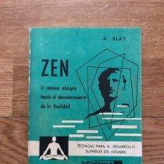 Libros de segunda mano: ZEN A. BLAY. Lote 172632977