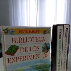 Libros de segunda mano: BIBLIOTECA DE LOS EXPERIMENTOS. EVEREST. 1998.. Lote 172652362