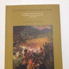 Libros de segunda mano: LAS REPRESENTACIONES DE LA SIDRA. EL CONTEXTO SOCIAL A TRAVÉS DE LA LITERATURA Y PINTURA. Lote 172662704