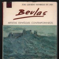 Libros de segunda mano: BEULAS ARTISTAS ESPAÑOLES CONTEMPORÁNEOS Nº 119 JOSE GERARDO MANRIQUE DE LARA SANTA COLOMA DE FARNÉS. Lote 172674983