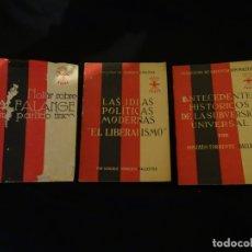 Libros de segunda mano: LOTE 3 LIBROS FALANGE. Lote 172678414