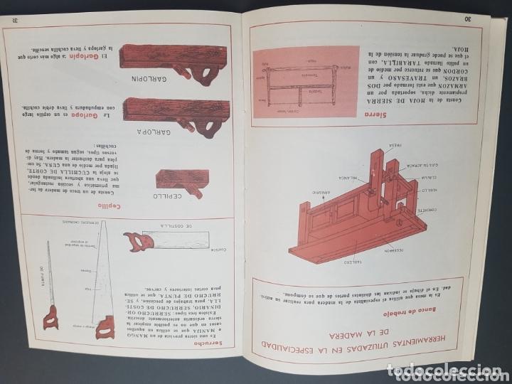 LIBRO TRABAJO DE LA MADERA. OFICIOS DE LA ESPECIALIDAD. SANTILLANA (Libros de Segunda Mano - Ciencias, Manuales y Oficios - Otros)