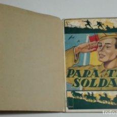 Livres d'occasion: ANTIGUO LIBRO TITULADO -MANUAL DEL SOLDADO-. Lote 172712393