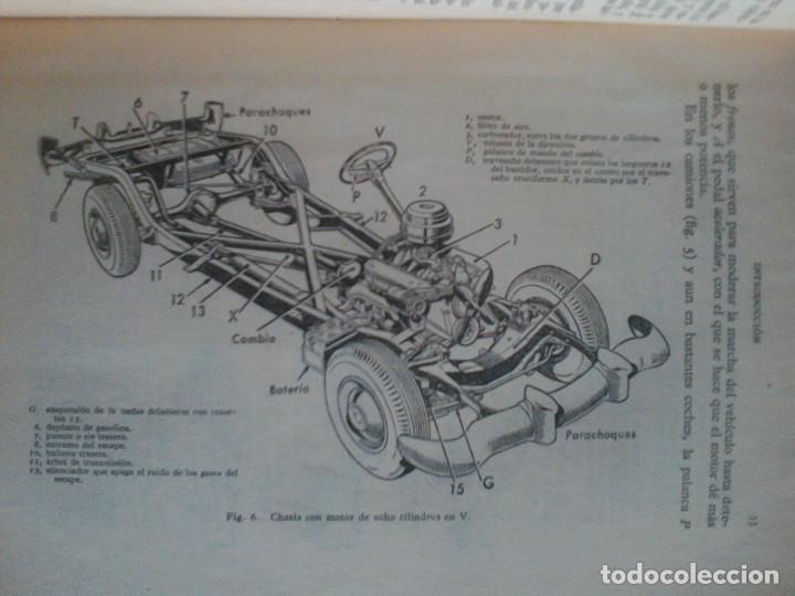 Libros de segunda mano: MANUEL ARIAS-PAZ. MANUAL DE AUTOMOVILES. 1960. ILUSTRACIONES BLANCO Y NEGRO. FOTOGRAFIAS ADJUNTAS. - Foto 8 - 172719634