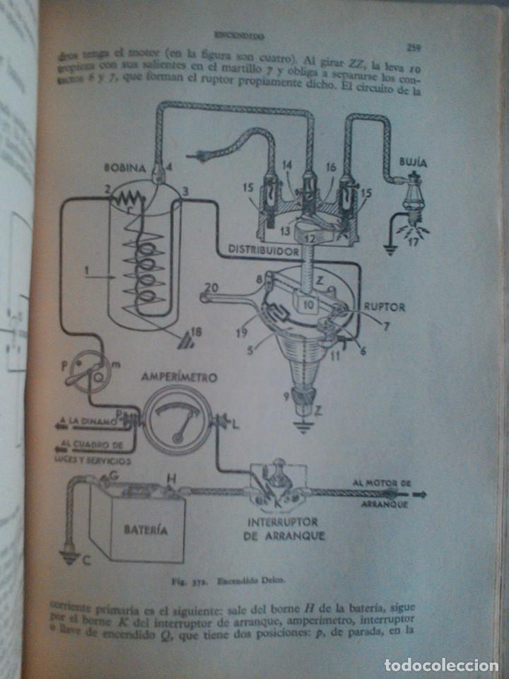 Libros de segunda mano: MANUEL ARIAS-PAZ. MANUAL DE AUTOMOVILES. 1960. ILUSTRACIONES BLANCO Y NEGRO. FOTOGRAFIAS ADJUNTAS. - Foto 9 - 172719634