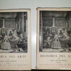 Libros de segunda mano: HISTORIA DEL ARTE. DIEGO ANGULO IÑIGUEZ. 2 TOMOS. Lote 172721033