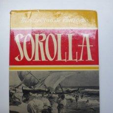 Libri di seconda mano: SOROLLA. PANTORBA. 1977. Lote 172759282