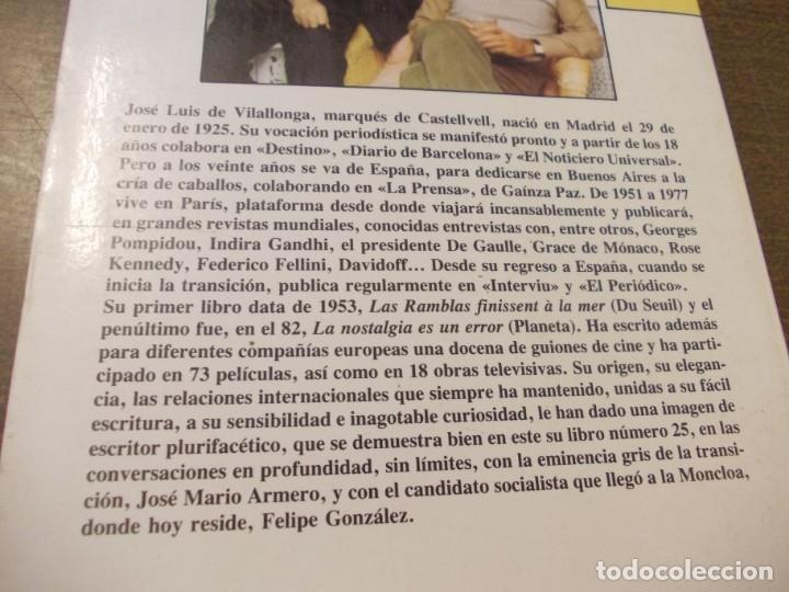 Libros de segunda mano: Los sables, la corona y la rosa, José Luis de Vilallonga. Argos Vergara 1ª ed. mayo 1.984 - Foto 2 - 172779479