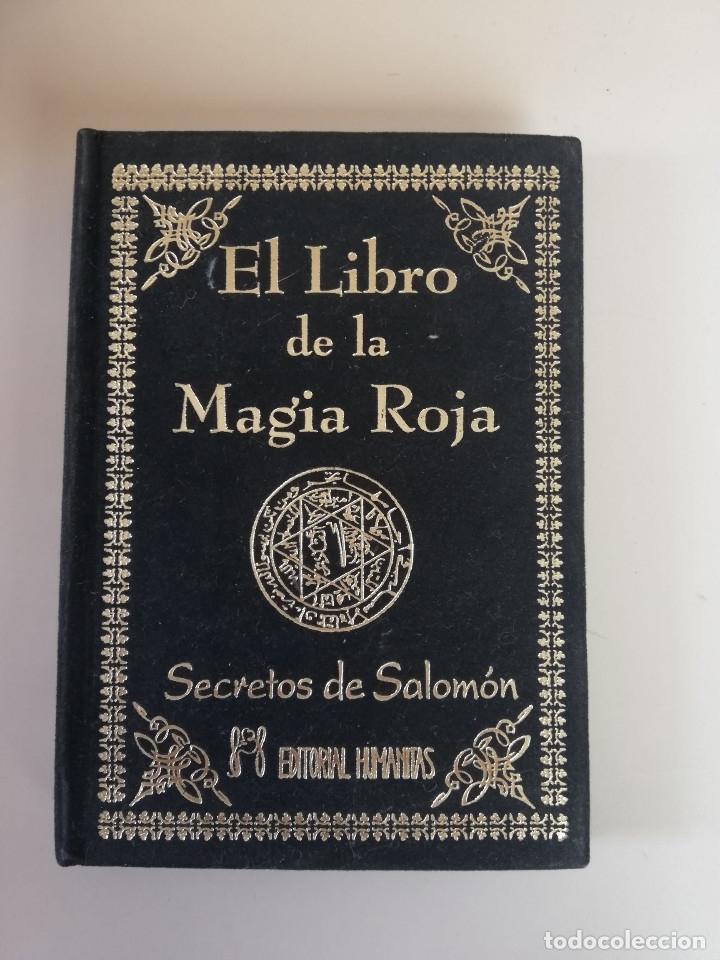 EL LIBRO DE LA MAGIA ROJA,- SECRETOS DE SALOMON - EN TERCIOPELO NEGRO (Libros de Segunda Mano - Parapsicología y Esoterismo - Otros)