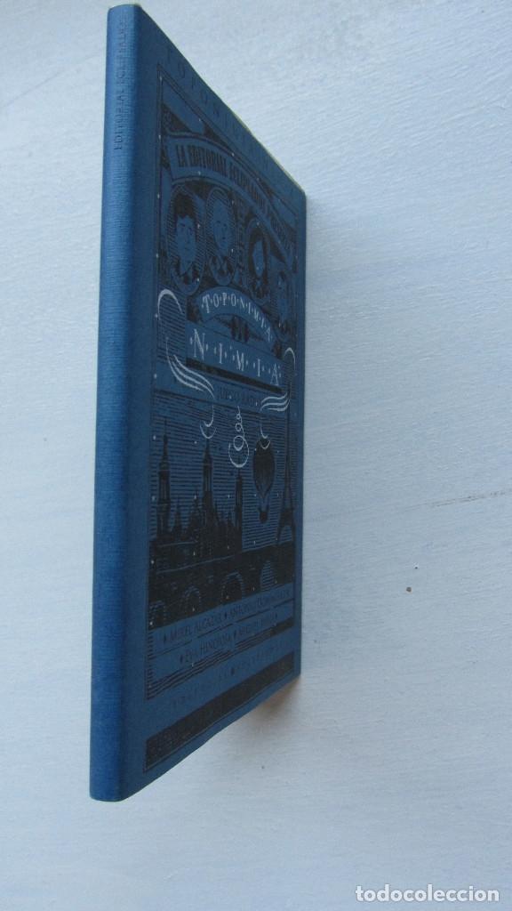 Libros de segunda mano: TOPONIMIA NIMIA EDITORIAL ECLIPSADOS - Foto 3 - 172840239