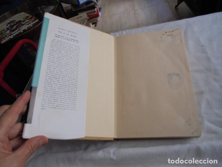 Libros de segunda mano: TU Y EL ARTE INTRODUCCION A LA CONTEMPLACION ARTISTICA Y A LA HISTORIA DEL ARTE.W.WAETZOLDT.LABOR 19 - Foto 4 - 172893194