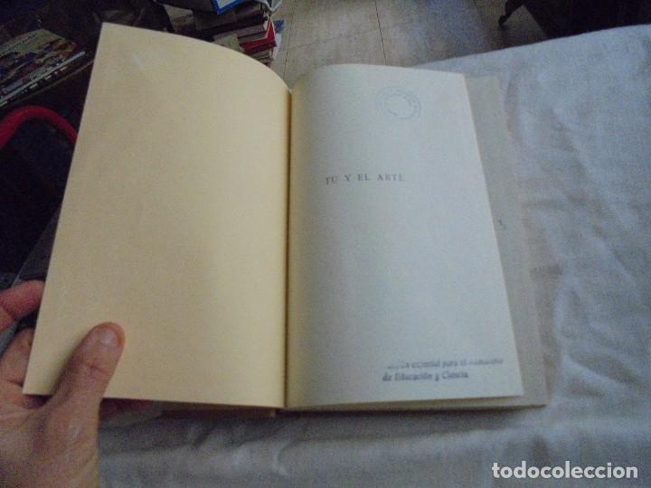 Libros de segunda mano: TU Y EL ARTE INTRODUCCION A LA CONTEMPLACION ARTISTICA Y A LA HISTORIA DEL ARTE.W.WAETZOLDT.LABOR 19 - Foto 5 - 172893194