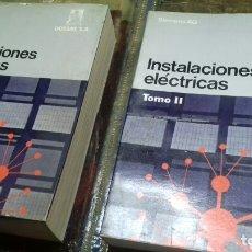 Libros de segunda mano: INSTALACIONES ELECTRICAS. 2 TOMOS. SIEMENS. Lote 172938898