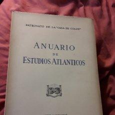 Libros de segunda mano: ANUARIO DE ESTUDIOS ATLANTICOS 1977 (N° 23). CANARIAS. SIN DESBARBAR.. Lote 172917425