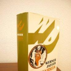 Libros de segunda mano: WERNER JAEGER: PAIDEIA (FONDO DE CULTURA ECONÓMICA, 1996) EXCELENTE ESTADO. TAPA DURA.. Lote 172952452