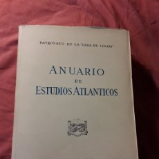 Libros de segunda mano: ANUARIO DE ESTUDIOS ATLANTICOS 1978 (N° 24). CANARIAS. SIN DESBARBAR.. Lote 172954054