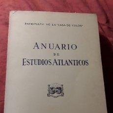 Libros de segunda mano: ANUARIO DE ESTUDIOS ATLANTICOS 1984 (N° 30). CANARIAS. SIN DESBARBAR.. Lote 172954472