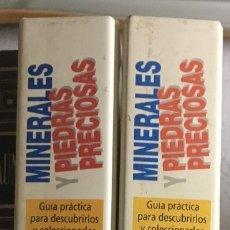 Libros de segunda mano: MINERALES Y PIEDRAS PRECIOSAS 2 TOMOS. Lote 172958232