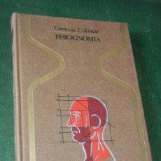 Libros de segunda mano: FISIOGNOMIA, DE ORENCIA COLOMAR - COL.OTROS MUNDOS 1974 1A.EDICION. DEDICATORIA AUTOR. Lote 173008260