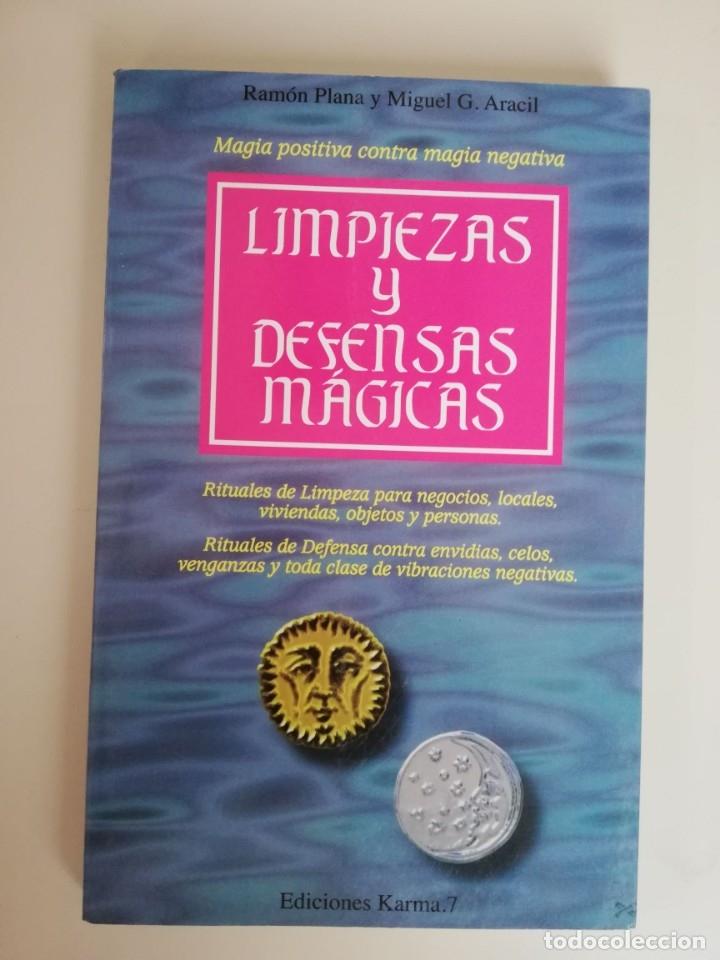RAMÓN PLANA Y MIGUEL G.ARACIL-LIMPIEZAS Y DEFENSAS MÁGICAS(KARMA,1996).NUEVA ERA.TEMAS OCULTOS (Libros de Segunda Mano - Parapsicología y Esoterismo - Otros)