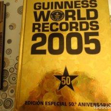 Libros de segunda mano: GUINNES WORLD RECORDS 2005. Lote 173039697