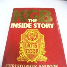 Libros de segunda mano: KGB. THE INSIDE STORY. CHRISTOPHER ANDREW & OLEG GORDIEVSKY. 1990. LENIN TO GORBACHEV.. Lote 173044325