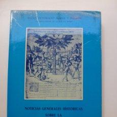 Libros de segunda mano: NOTICIAS GENERALES HISTÓRICAS SOBRE LA ISLA DEL HIERRO. Lote 173051045
