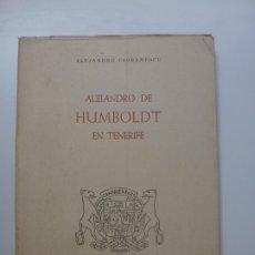 Libros de segunda mano: ALEJANDRO DE HUMBOLDT EN TENERIFE 1960. Lote 173051135