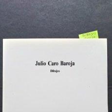 Libros de segunda mano: DIBUJOS - JULIO CARO BAROJA. Lote 173071507